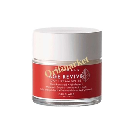 كرم روز ضدپيری با spf 15 بالای 35 سال جدید اپتیمالز OPTIMALS Age Revive Day Cream SPF 15