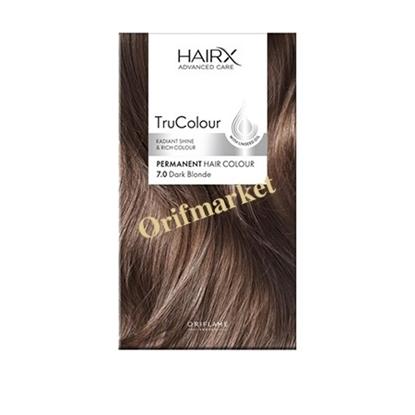 رنگ مو اوریفلیم HairX TruColour بلوند (7.0)