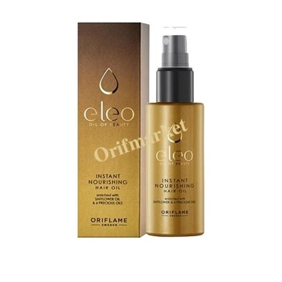 روغن آرگان مغذی مو الئو Eleo Instant Nourishing Hair Oil